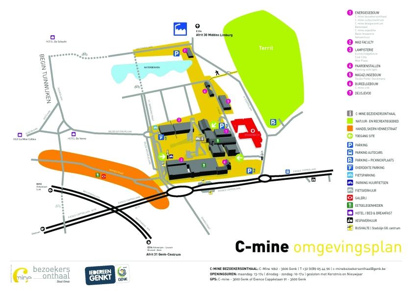 C-mine_siteplan C-mine LRversie dec. 2013-page-001